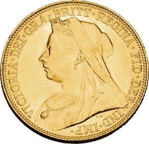 obverse: Australia.  Victoria (1837-1901). AV Sovereign 1901, Melbourne mint