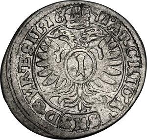 reverse: Austria.  Leopold I (1657-1705).. AR 3 Kreuzer 1671 SHS, Silesia, Breslau mint
