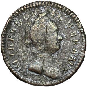 obverse: Austria.  Maria Theresia (1740-1780).. AE Pfennig 1749 W, Vienna mint