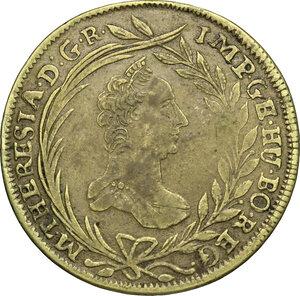 obverse: Austria.  Maria Theresia (1740-1780).. Brass 20 Keruzer 1768, Vienna mint