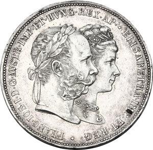 obverse: Austria.  Franz Joseph (1848-1916).. AR 2 Gulden 1879,  Vienna mint