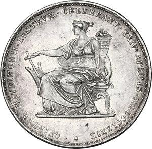 reverse: Austria.  Franz Joseph (1848-1916).. AR 2 Gulden 1879,  Vienna mint