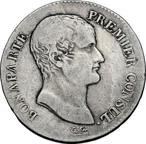 obverse: France.  Consulship (1799-1804).. AR 5 Francs AN 12 M, Toulouse mint