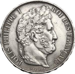 obverse: France.  Louis Philippe I (1830-1848). . AR 5 francs 1846 A, Paris mint