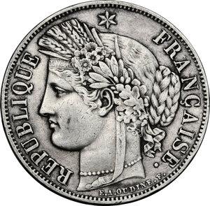 obverse: France.  Second Republic (1848-1851).. AR 5 Francs 1851, Paris mint