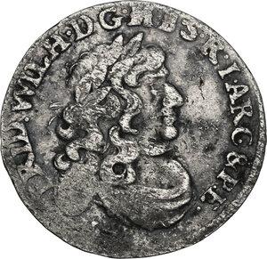 obverse: Germany.  Friedrich Wilhelm (1640-1688).. AR 6 Groschen, Brandenburg, 1674-1688