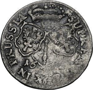 reverse: Germany.  Friedrich Wilhelm (1640-1688).. AR 6 Groschen, Brandenburg, 1674-1688