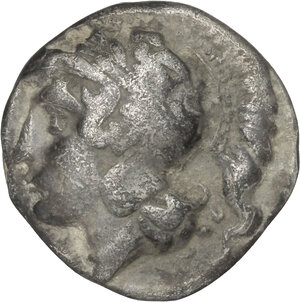 obverse: Central and Southern Campania, Hyrietes.. AR Stater, 405-385 BC