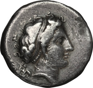 obverse: Central and Southern Campania, Neapolis. AR Didrachm, 395-385 BC