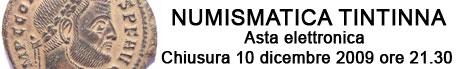 Banner Tintinna - Asta Elettronica 2