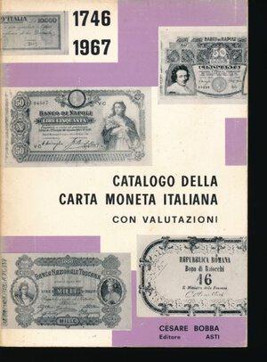obverse: BOBBA C. - Catalogo della carta moneta italiana con valutazioni (1746-1967). Asti