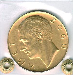 obverse: ALBANIA - Zog (1912-1939) - 100 Fr. 1927