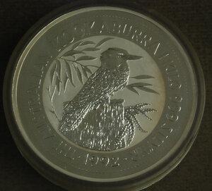 obverse: AUSTRALIA 30 Dollars 1992