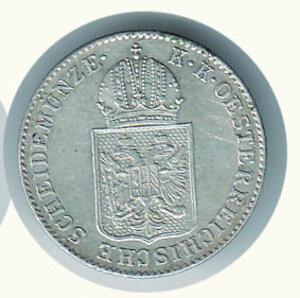 reverse: AUSTRIA -Rivoluzione 1848-49 - 6 Kreuzer 1848A.