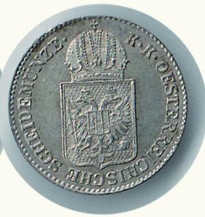 reverse: AUSTRIA -Francesco Giuseppe - 6 Kreuzer 1849 A