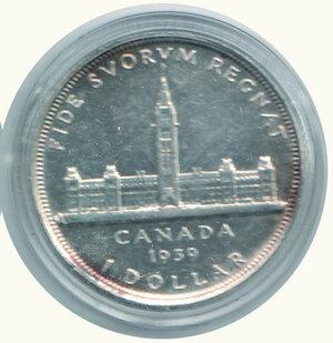 reverse: CANADA - Dollaro 1939.