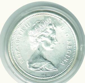 obverse: CANADA - Dollaro 1976.