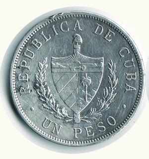 obverse: CUBA - Peso 1933 .