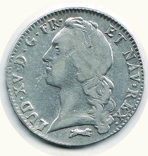 obverse: FRANCIA - Luigi XV - Ecu 1763.