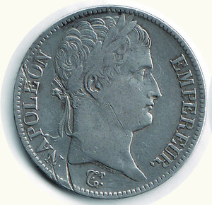 obverse: FRANCIA - Napoleone - 5 Fr. 1811 M (Toulouse).