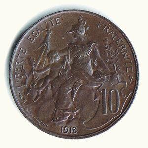 obverse: FRANCIA - Terza Repubblica - 10 Centesimi