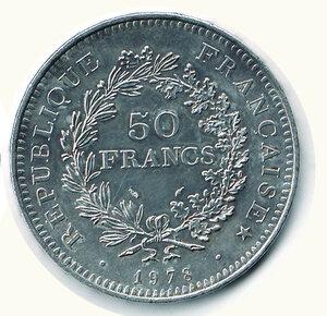 reverse: FRANCIA - 50 Fr. 1978.