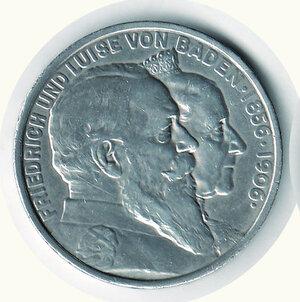 obverse: GERMANIA - Antichi Stati - Baden - 5 Marchi 1906
