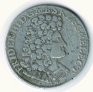 obverse: GERMANIA - Antichi Stati - Federico III Elettore - Brandemburgo - 2/2 di Tallero 1689.  Richiesta 100