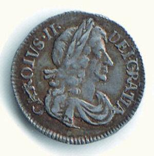obverse: GRAN BRETAGNA - Carlo II (1660-1685) - 3 Pence 1679