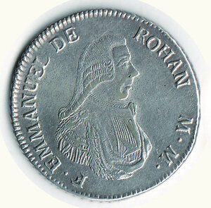 obverse: MALTA - Emmanuel de Rohan - 2 Scudi 1796.