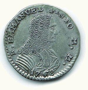 obverse: MALTA - Emmanuel Pinto (1741-1768) - 4 Tari 1768.
