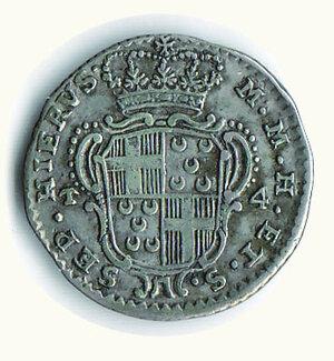 reverse: MALTA - Emmanuel Pinto (1741-1768) - 4 Tari 1768.