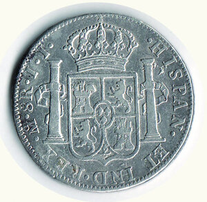 reverse: MESSICO - Ferdinando VII - 8 Reales 1820.