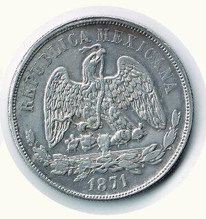 reverse: MESSICO - Repubblica Messicana - Peso 1871.
