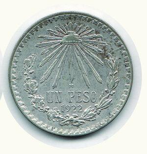 reverse: MESSICO - Pesos 1922.