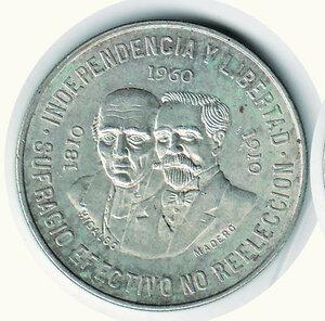 obverse: MESSICO - Dieci Pesos 1960