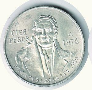 obverse: MESSICO - 100 Pesos 1978.