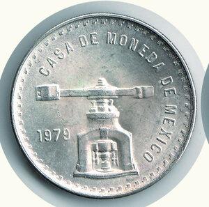 obverse: MESSICO - Centenario della zecca 1979 - Oncia 1979.