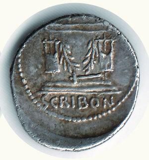 reverse:  SCRIBONIA - Denario - Seaby 8.