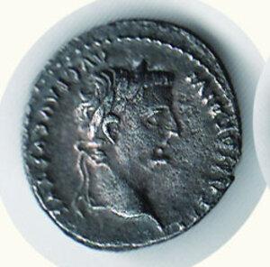 obverse: ROMA - Tiberio (14-37) - Denario