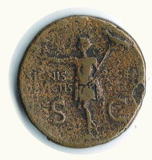obverse: GERMANICO  figlio di Nerone Druso - Asse