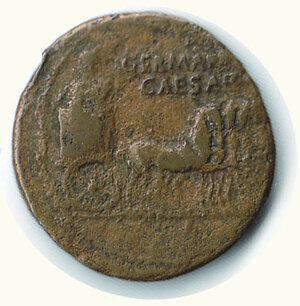 reverse: GERMANICO  figlio di Nerone Druso - Asse