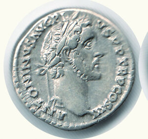 obverse:  ANTONINO PIO (138-161) - Denario;