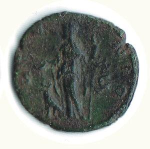 reverse: FAUSTINA II figlia di A. Pio - Asse