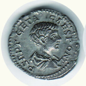 obverse: ROMA - Geta (209-211) - Denario