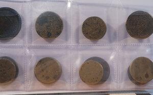 obverse: PESI MONETALI - Lotto di 12 esemplari