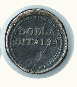reverse: PESI MONETALI - Peso della Dobla d Italia
