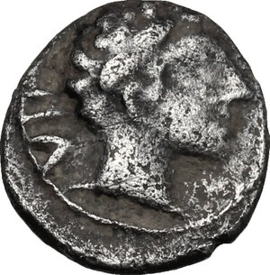 obverse: Etruria, Populonia. AR 2.5-Asses, 3rd century BC