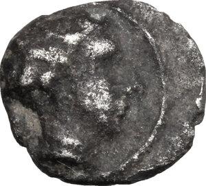 obverse: Etruria, Populonia. AR As, 3rd century BC