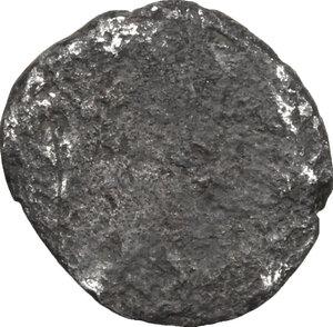 reverse: Etruria, Populonia. AR As, 3rd century BC